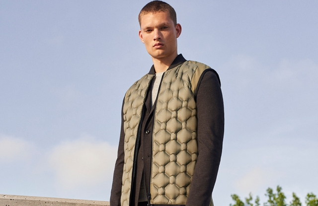 A look from the Tim Coppens-designed UAS collection.