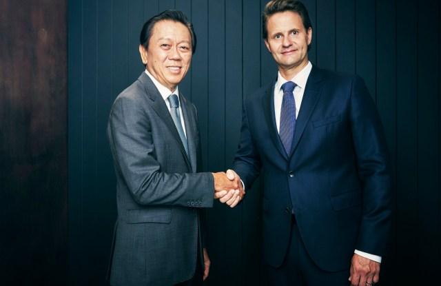 Patrick Chong and Wolfgang Baier