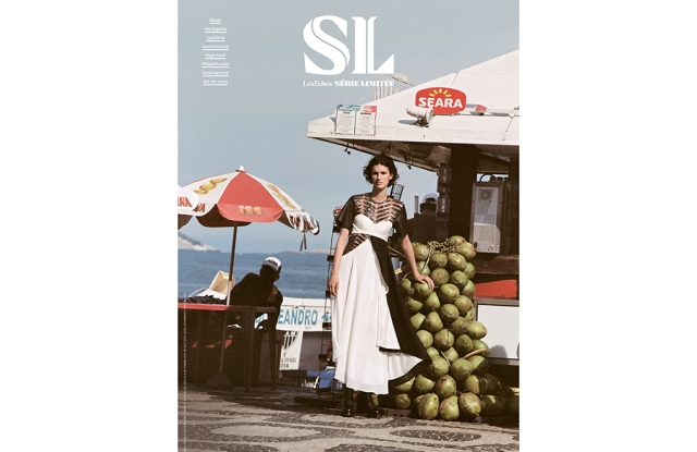 Marte Mei van Haaster in Louis Vuitton on the cover of Série Limitée