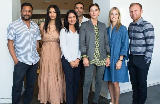 Designers with Francesca Amfitheatrof, Anisa Kamadoli Costa and Burak Cakmak