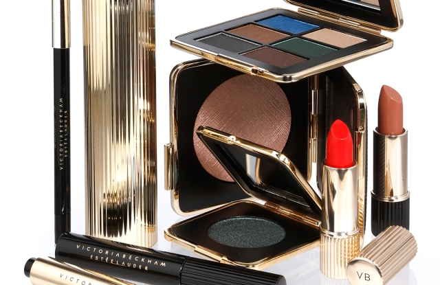 Victoria Beckham's limited edition color cosmetics collection with Estee Lauder.