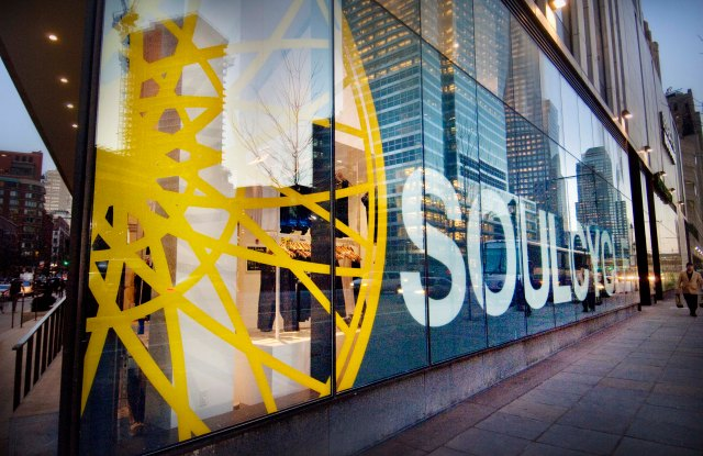 A SoulCycle studio