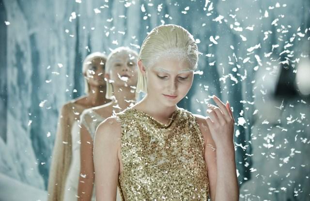 A still from Daniela Federica's film for Badgley Mischka.