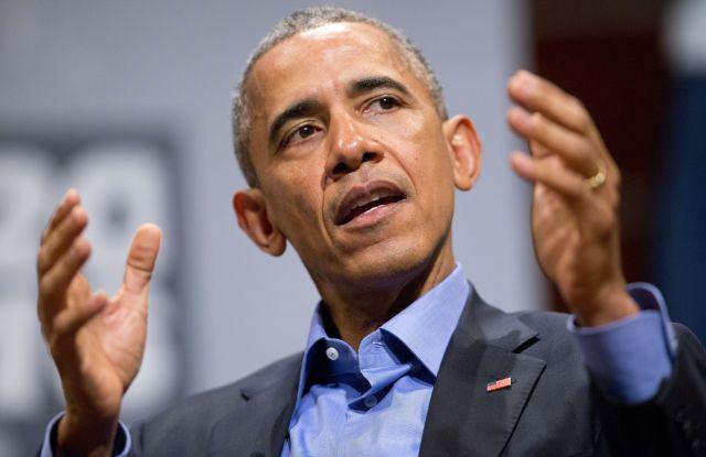 President Obama in Austin, Tex.