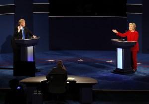 Presidential Debate, Hempstead, New York, USA - 26 Sep 2016