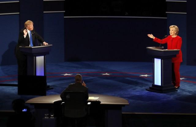 Clinton and Trump Presidential Debate