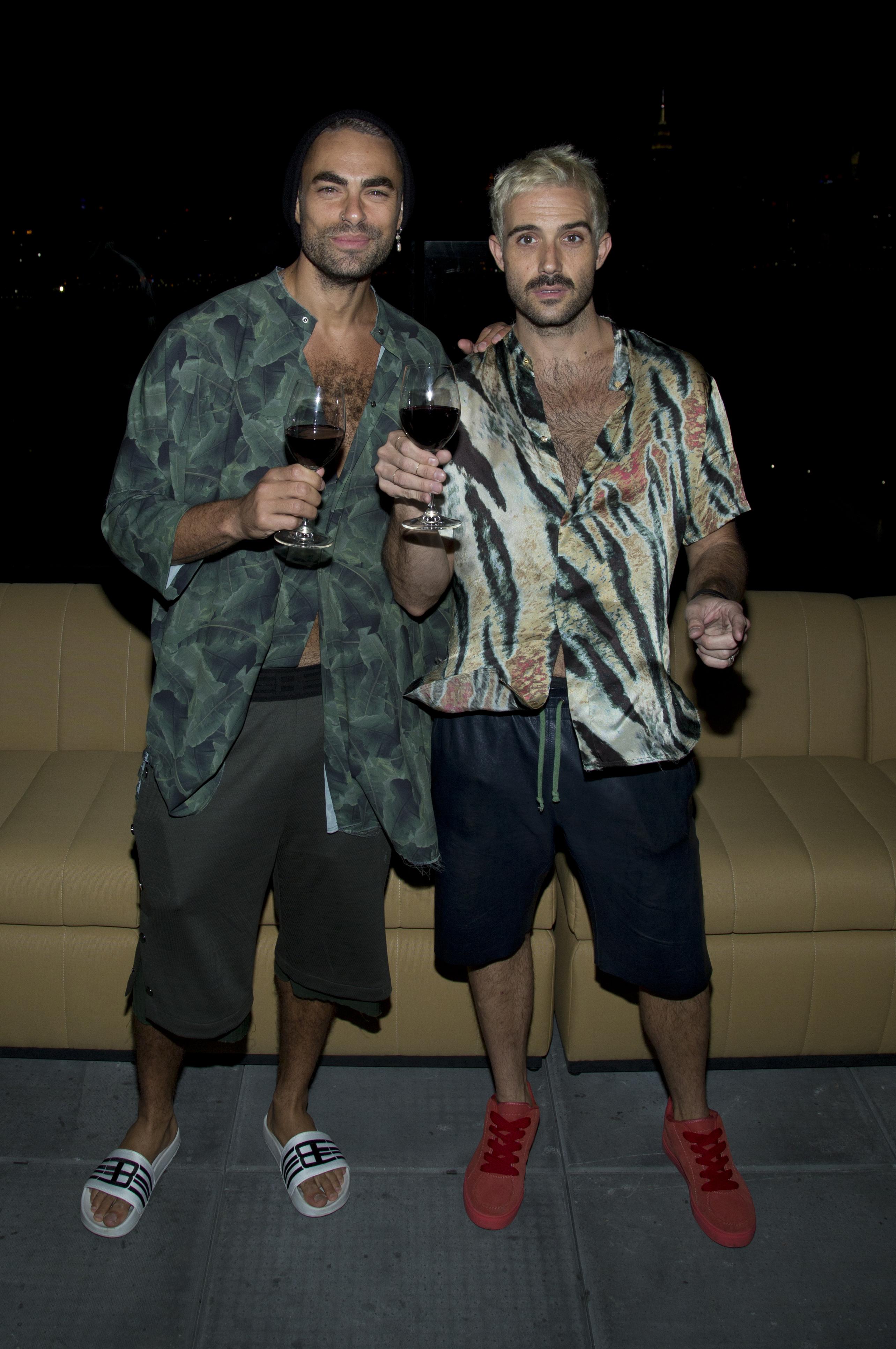 Scott Studenberg and John Targon of Baja East.
