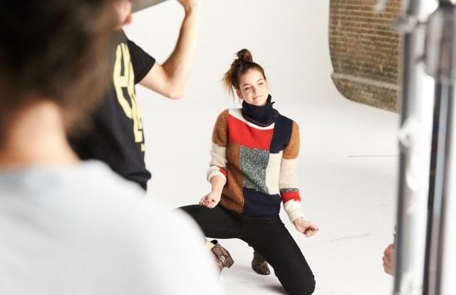 Barbara Palvin Model Amazon Fashion European Fall 2016 Campaign