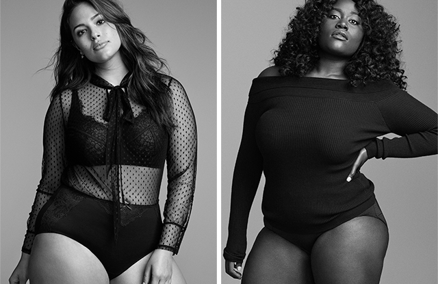 Ashley Graham and Danielle Brooks in Lane Bryant's fall campaign