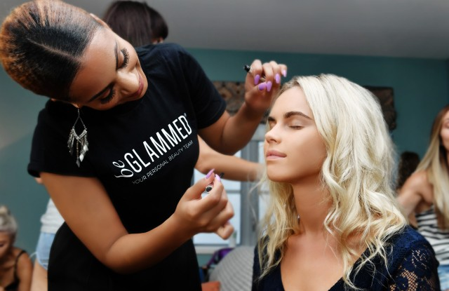 BeGlammed provided beauty services at Miami Swim Week.