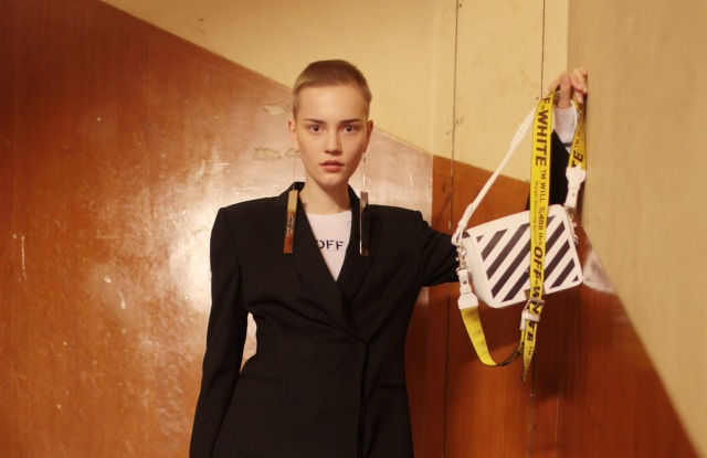 Backstage at Off-White RTW Spring 2017