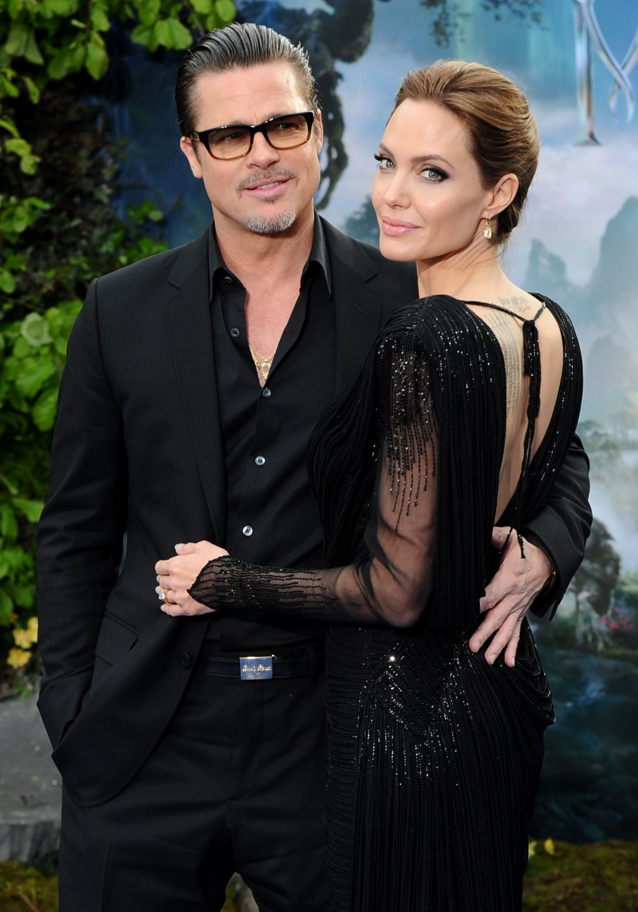 Brad Pitt and Angelina Jolie in May 2014
