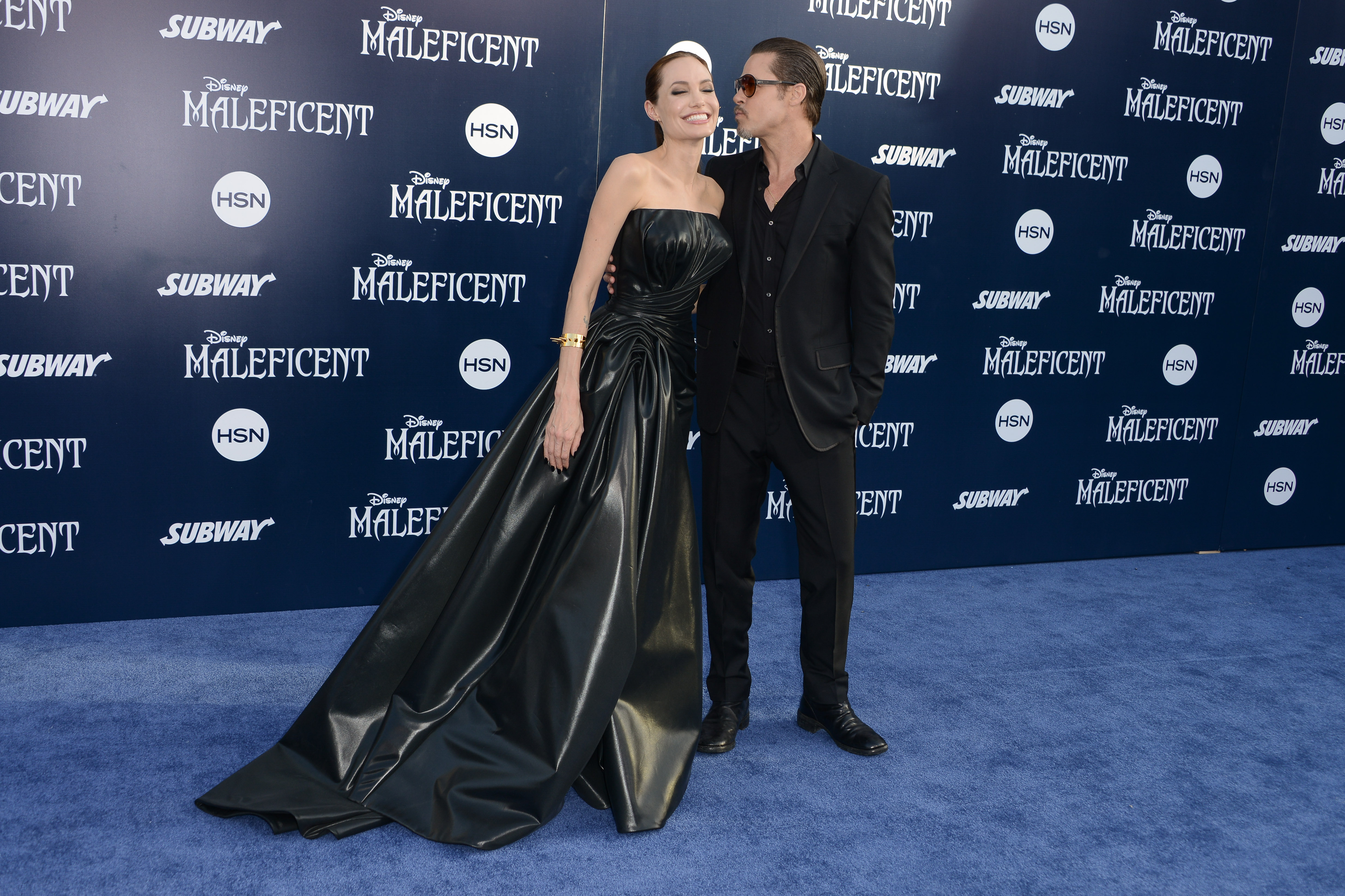 Angelina Jolie and Brad Pitta