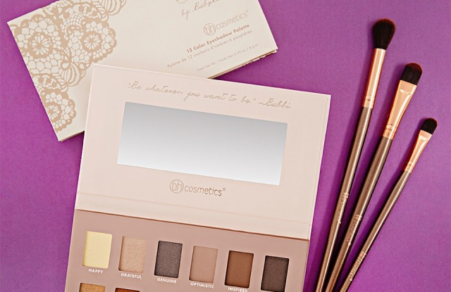 The eye-shadow palette from BH Cosmetics and Lindy Tsang, aka Bubzbeauty.