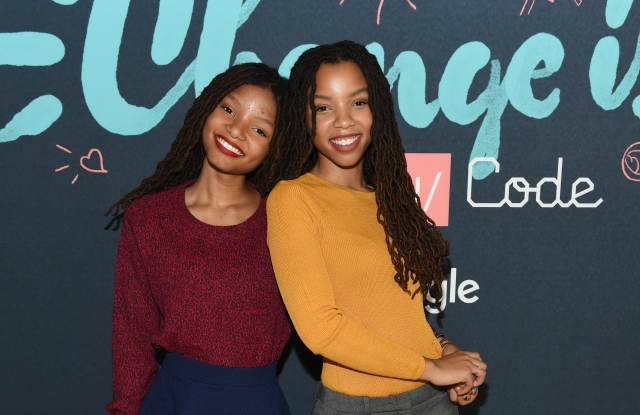 Chloe x Halle at Made with Code