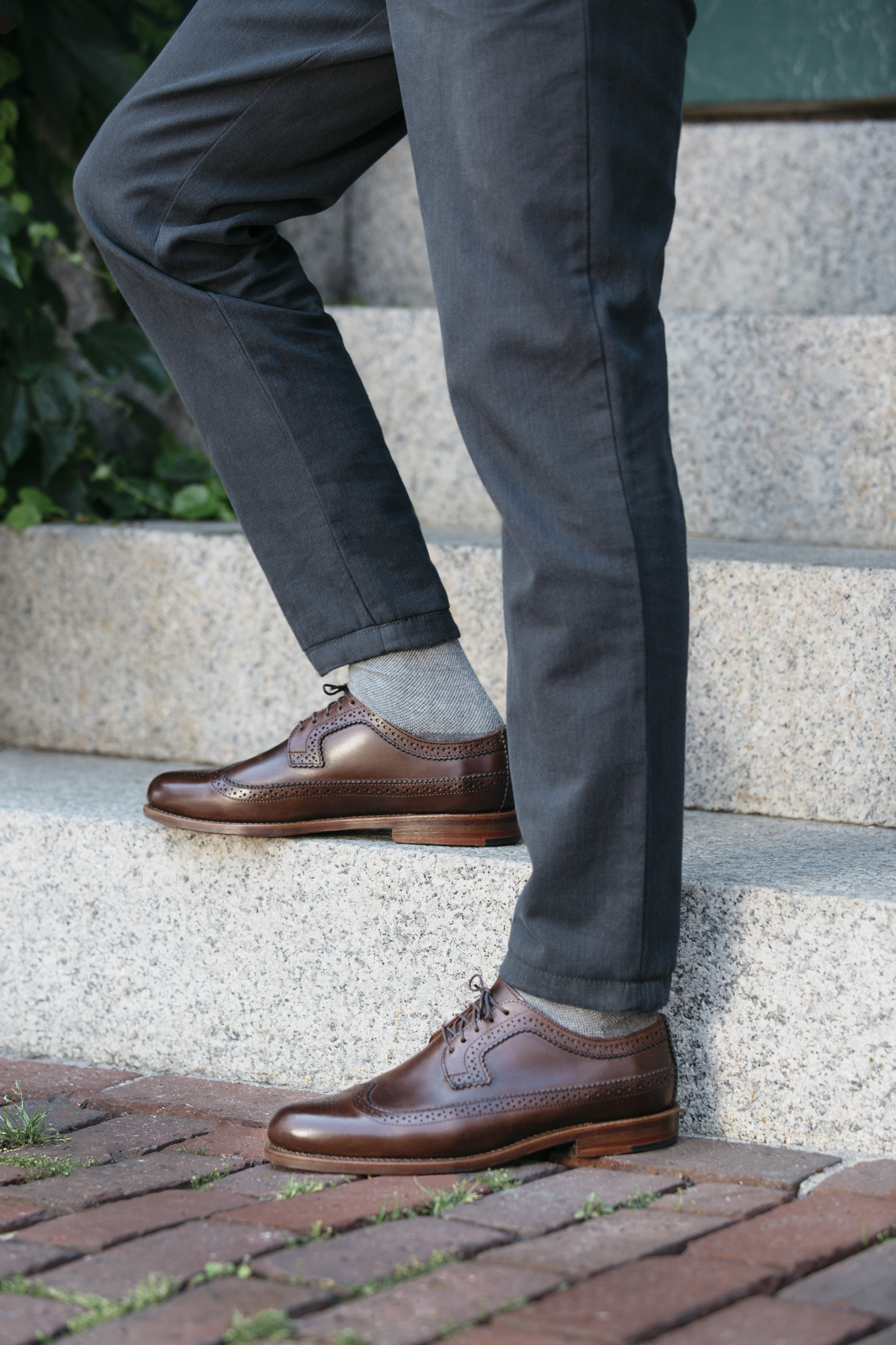 A look from Cole Haan's Made in Maine collection.