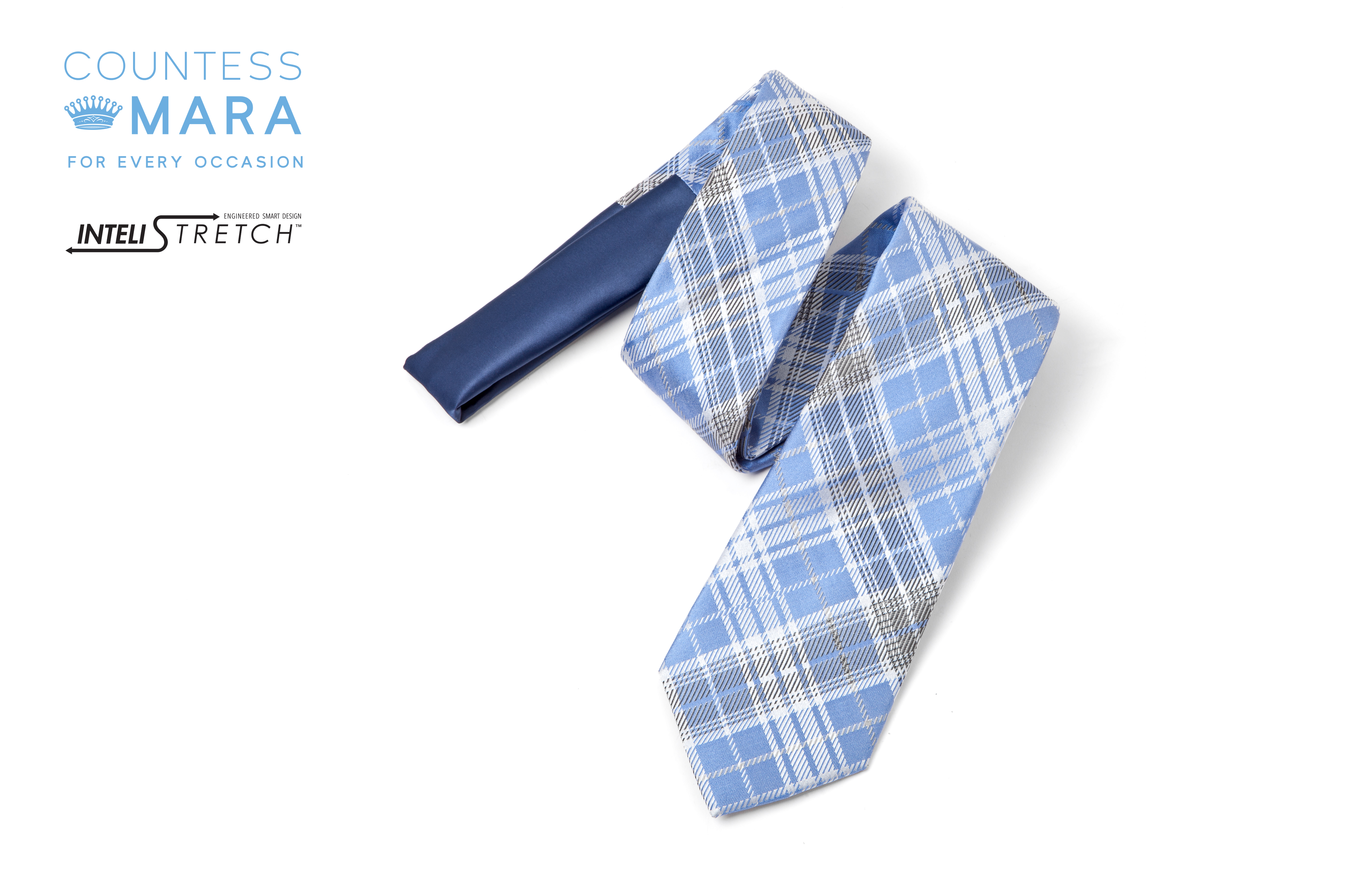 The Countess Mara tie with InteliStretch technology.