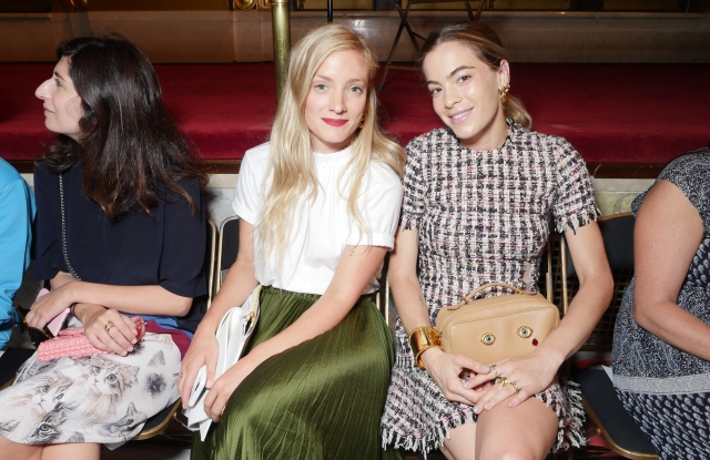 Front Row at Creatures of the Wind RTW Spring 2017