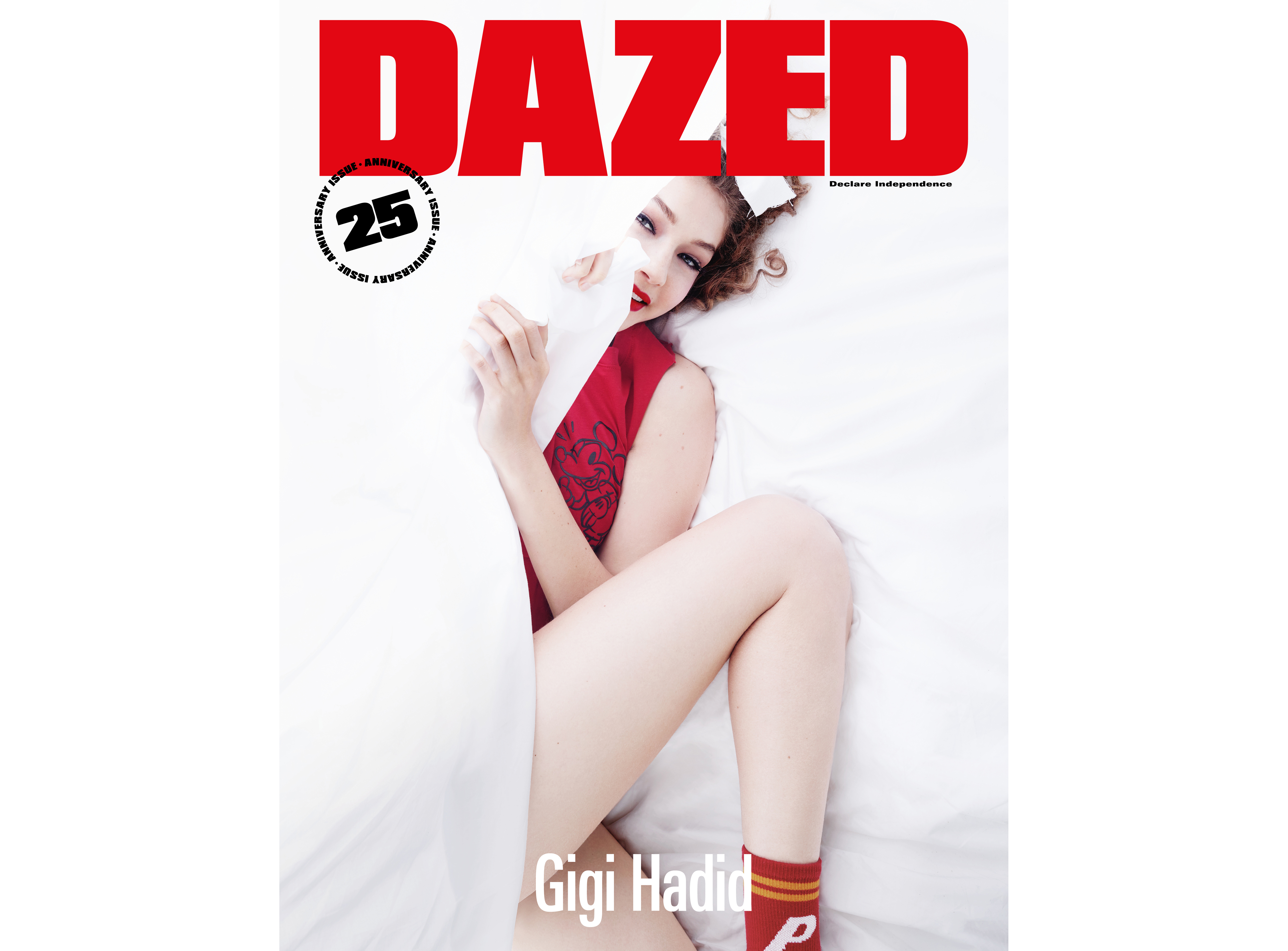Gigi Hadid Dazed Magazine