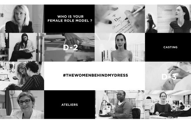Maria Grazia Chiuri Spotlights Women Behind Her Dior Debut