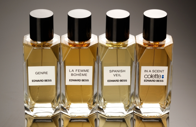 Edward Bess' first collection of fragrances launch in October.