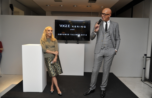 Franca Sozzani and Marco Bizzarri