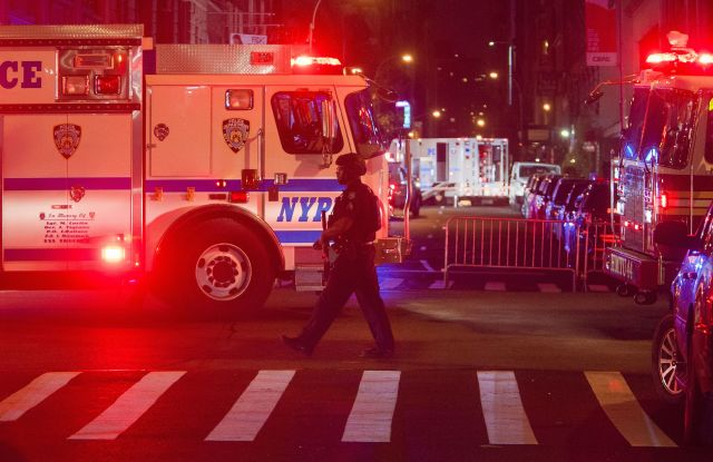 New York's police department has moved highly trained teams into high-profile areas in response to Monday's truck attack in Berlin.