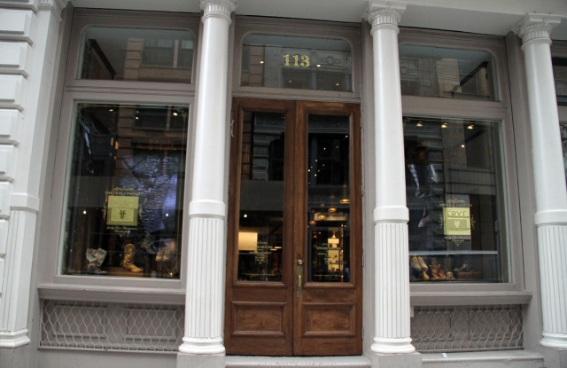 The Frye Store.