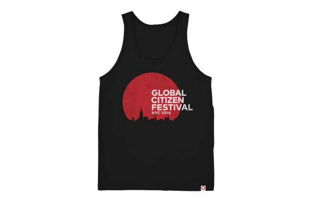 Global Citizens Festival skyline tank.