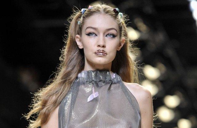 Gigi Hadid Fendi Runway Milan Fashion Week