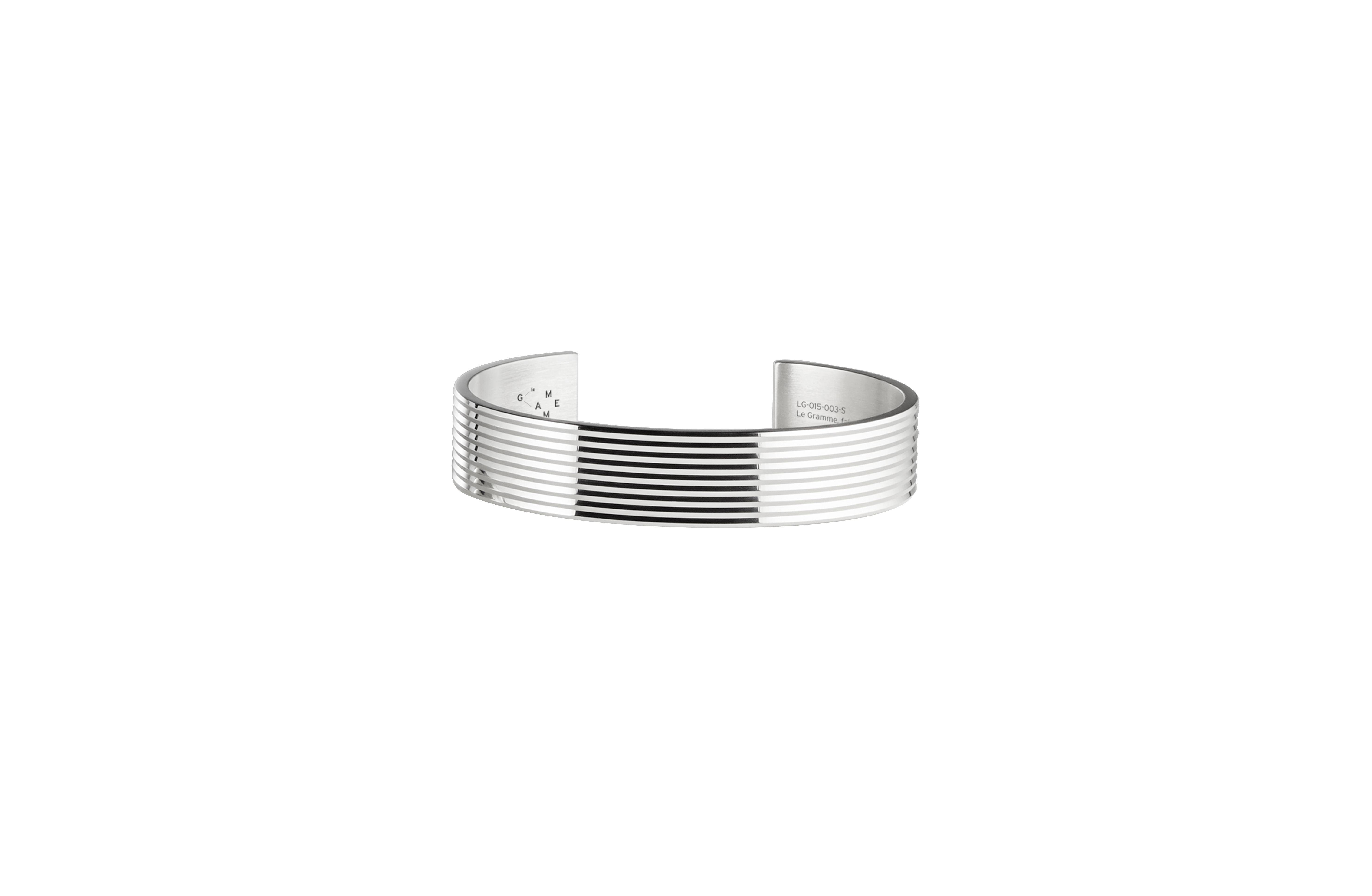 Le Gramme's 41 Grammes silver bracelet