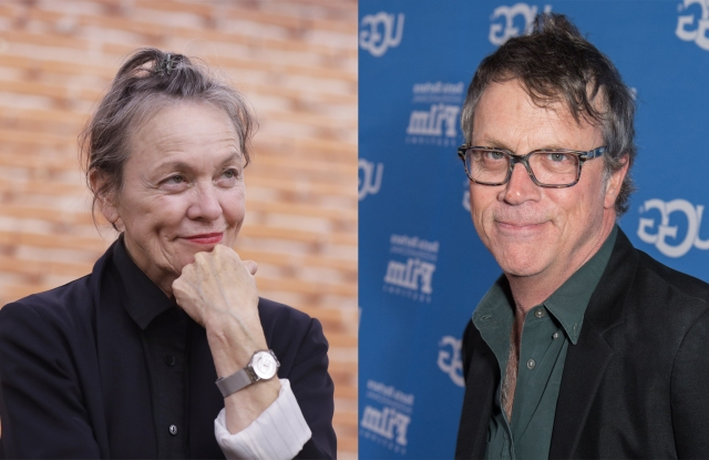 Laurie Anderson and Todd Haynes