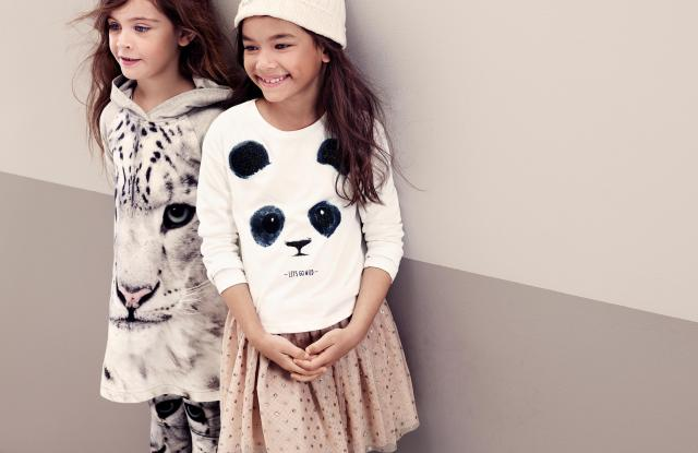 H&M is teaming with the World Wildlife Fund on a new kids' collection