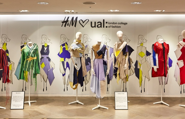 H&M and LCF team on sustainable collection.