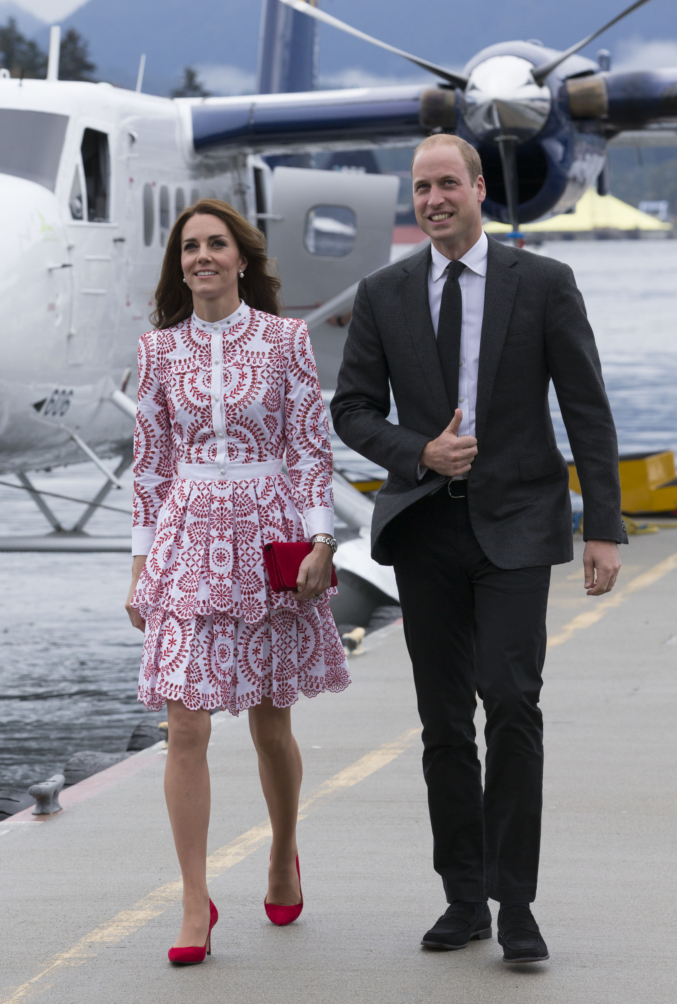 Kate Middleton Prince William Canada 2016