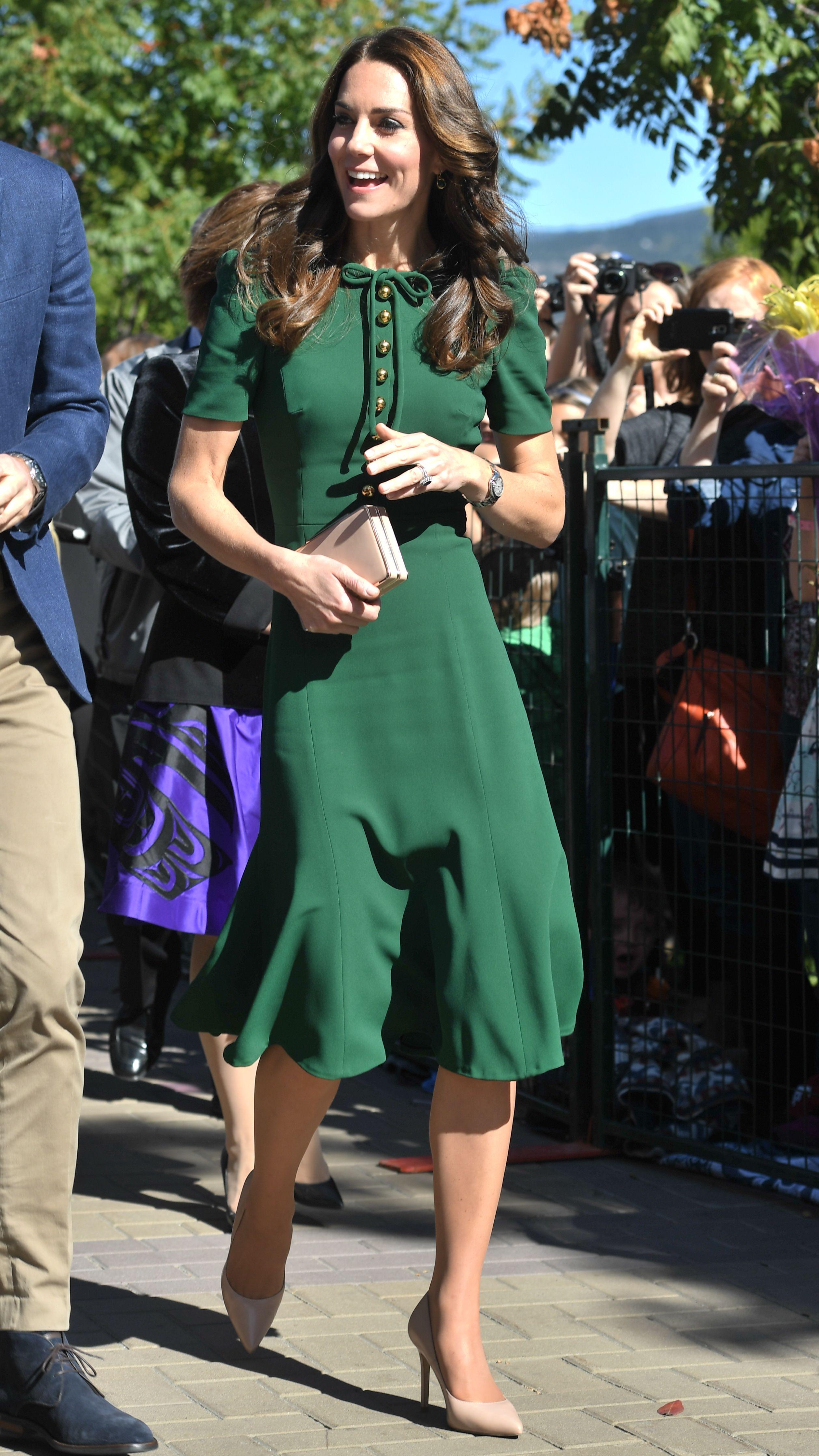 Kate Middleton Duchess of Cambridge Canada Royal Tour September 2016