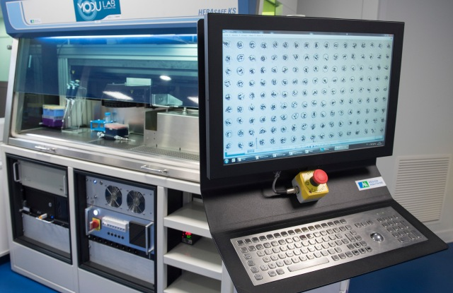 A laser bioprinter