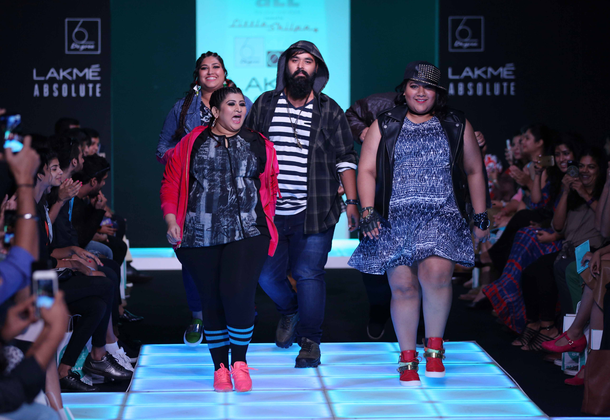 Looks from the aLL Curated by Little Shilpa Winter 2016 collection.