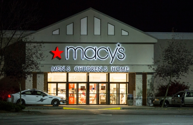 The Macy's store at the Cascade Mall in Burlington, Wash.