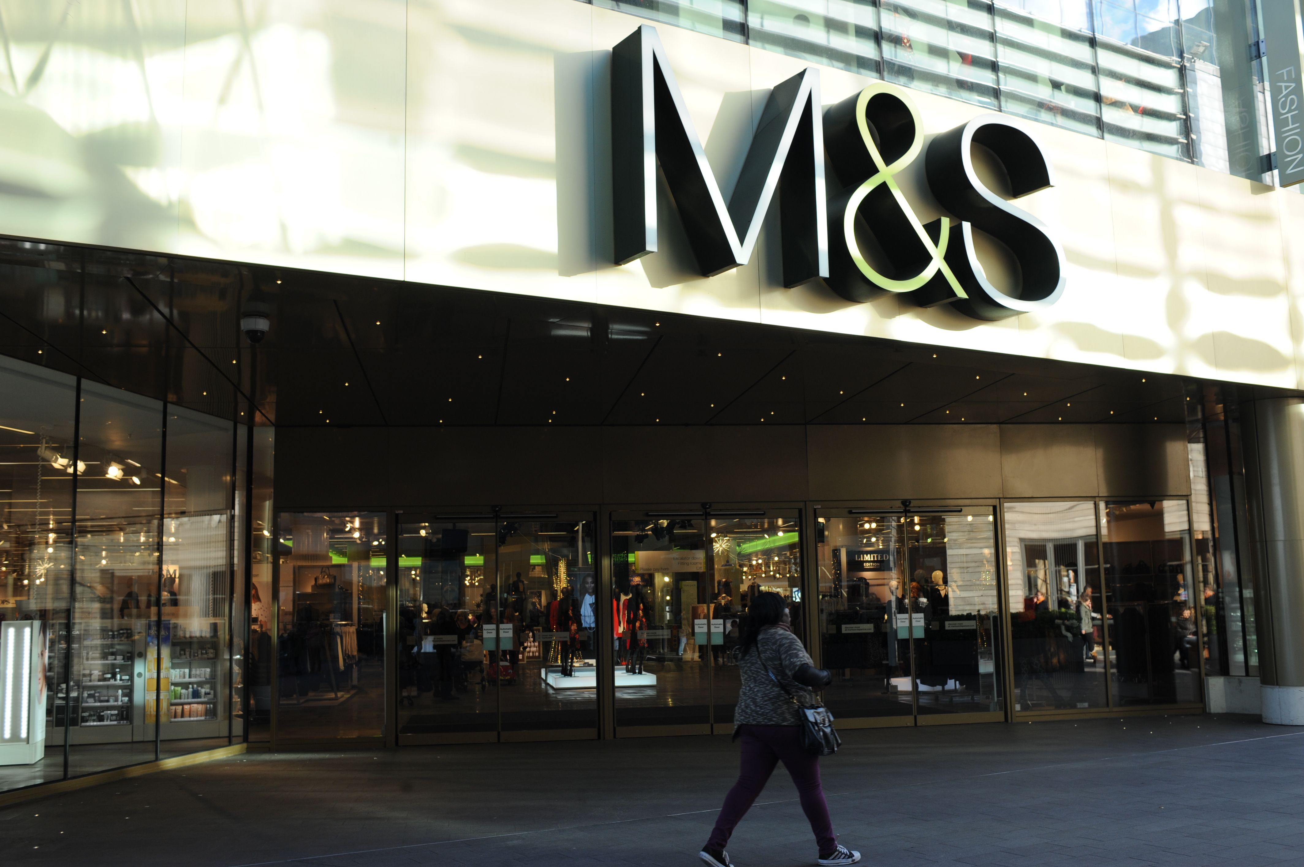 The Marks & Spencer store in London