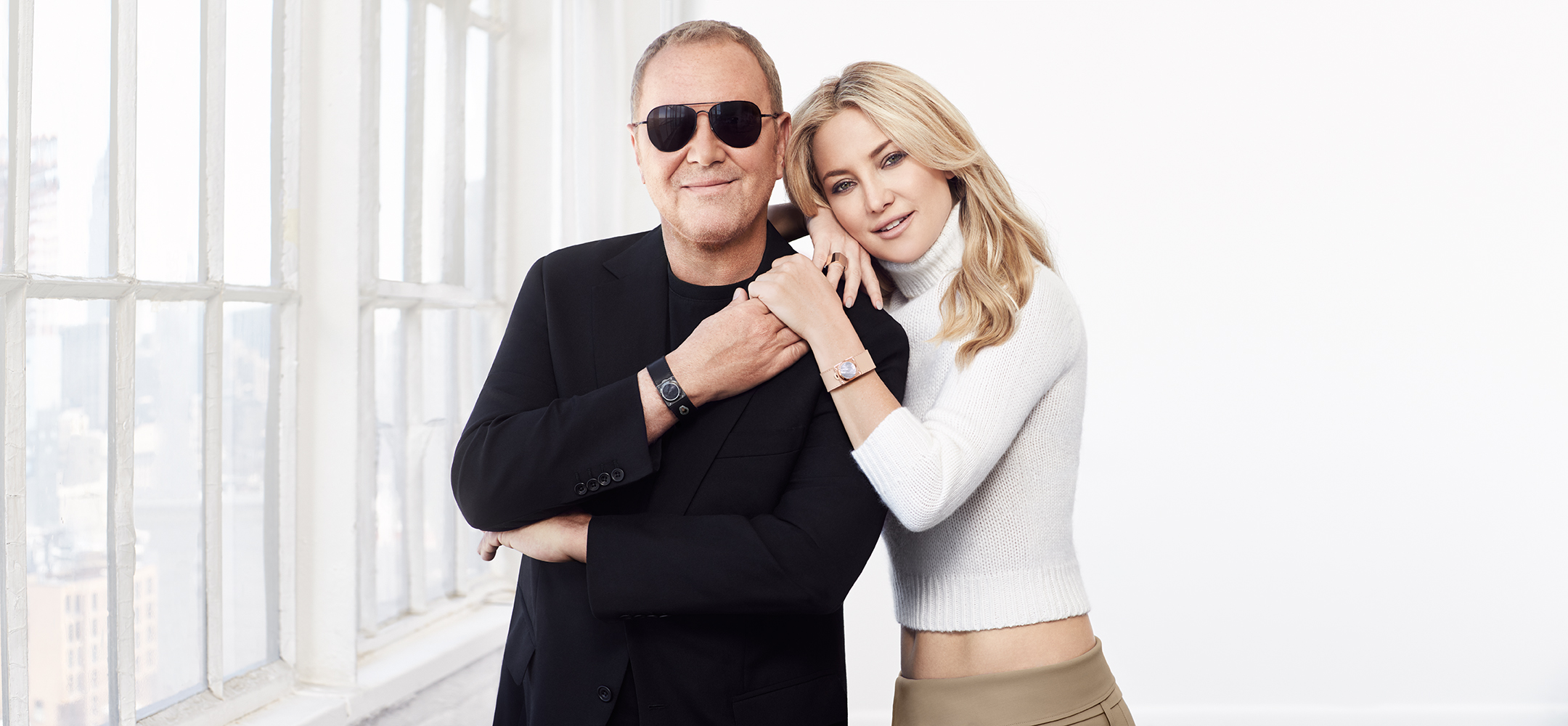 Michael Kors and Kate Hudson for Watch Hunger Stop.