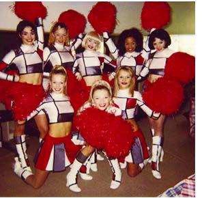 Mondrian Cheerleaders