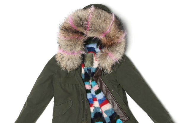 A Mr & Mrs Italy mini parka.