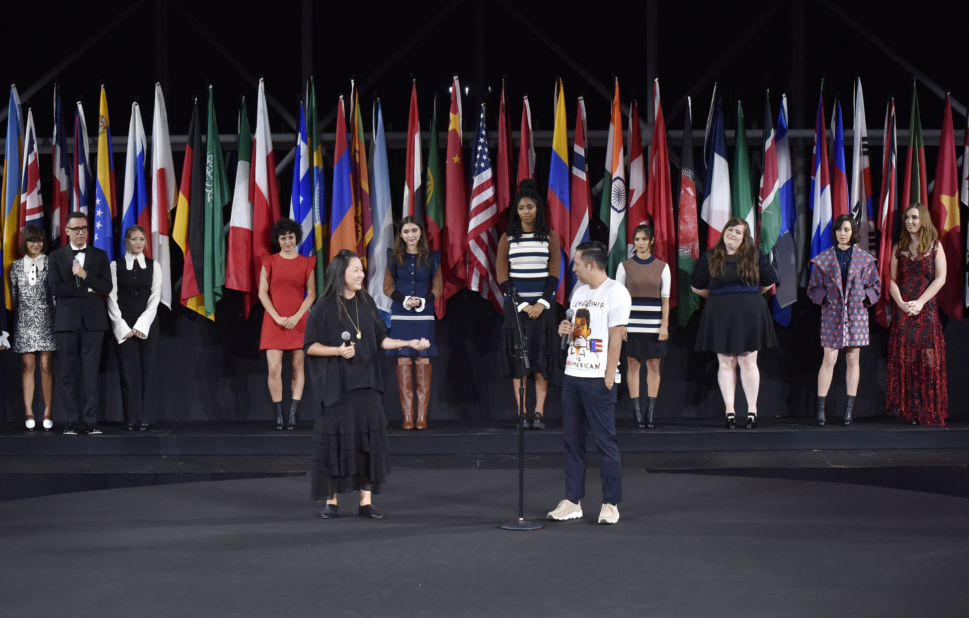 Opening Ceremony show, Runway, Spring Summer 2017, New York Fashion Week, USA - 11 Sep 2016
