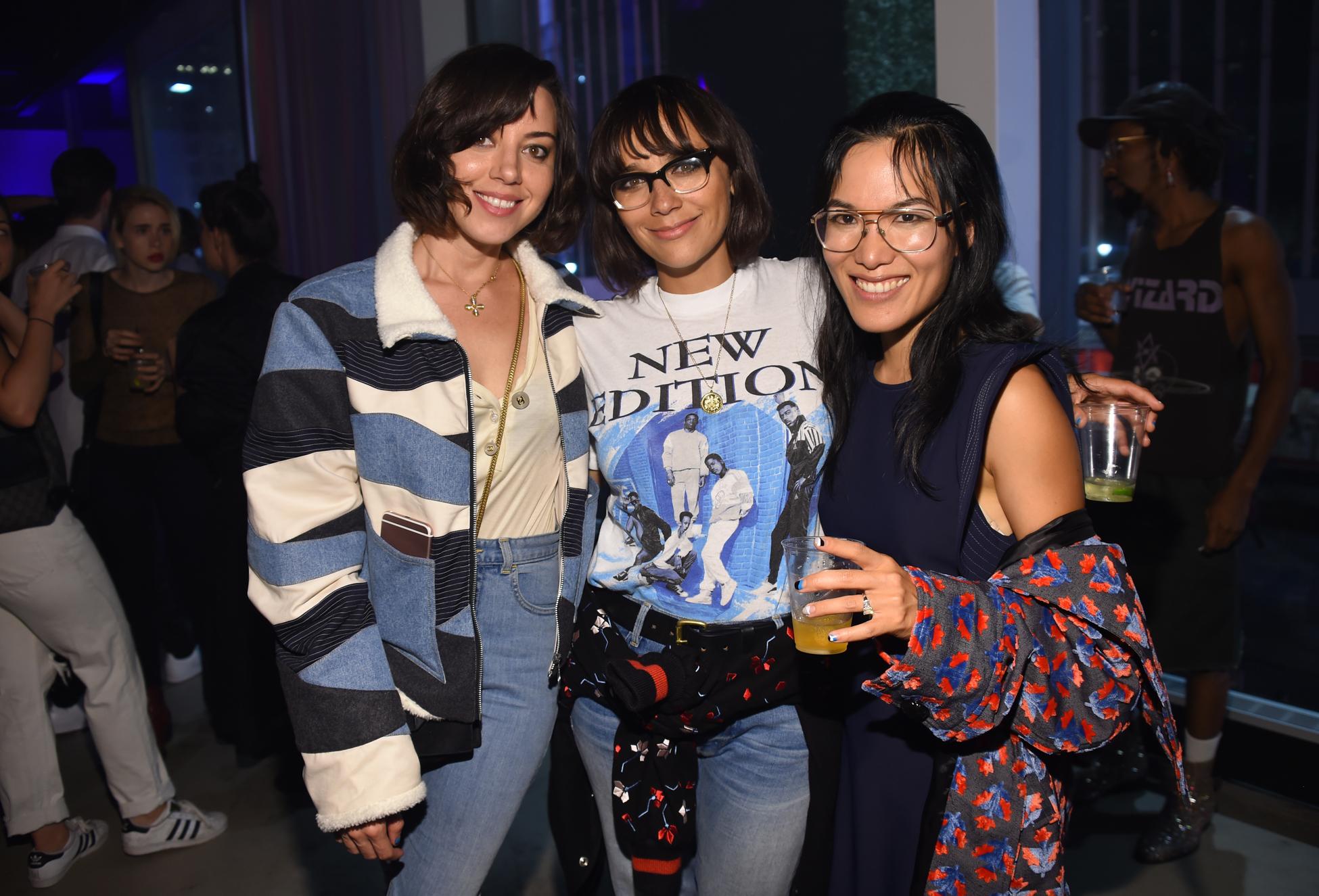 Aubrey Plaza, Rashida Jones and Ali Wong