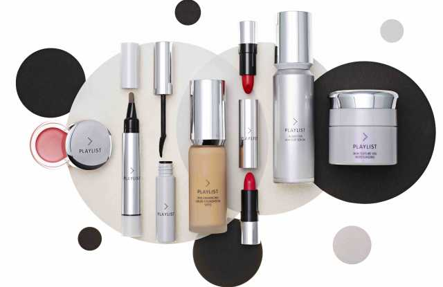 Products from Shiseido's Playlist brand