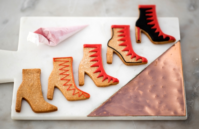 Charlotte Olympia shoe-shaped biscuits Pret-a-Portea