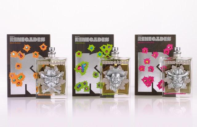 Project Renegades fragrances from Mark Buxton, Geza Schön and Bertrand Duchaufour.