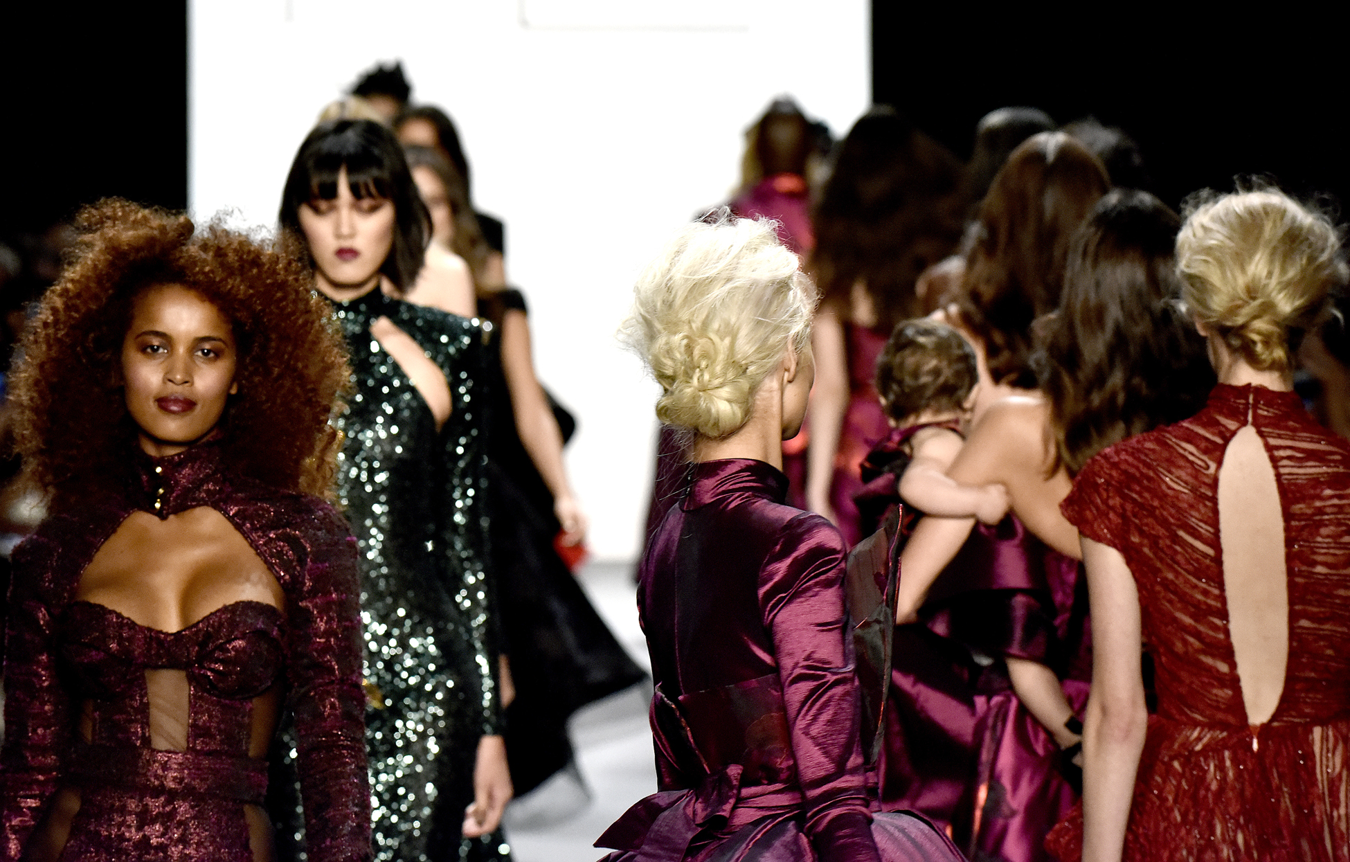 Michael Costello show, Runway, Spring Summer 2017, New York Fashion Week, USA - 08 Sep 2016
