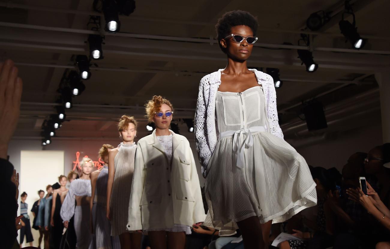 Adam Selman show, Spring Summer 2017, New York Fashion Week, USA - 08 Sep 2016